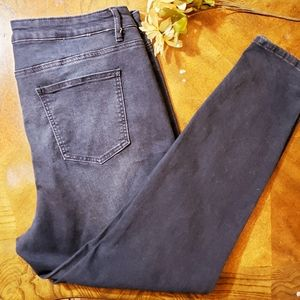 Fashion to Figure dark blue skinny jeans Size 20